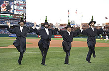 The Amazing Bottle Dancers at The Phillies' Jewish Heritage Celebration''