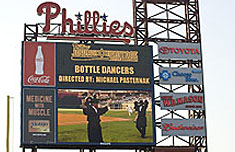 The Amazing Bottle Dancers at The Phillies' Jewish Heritage Celebration