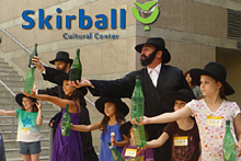 The Amazing Bottle Dancers at The Skirball Cultural Center's Family Amphitheater - Summer 2013